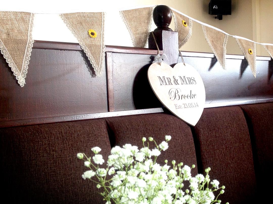 Wedding Venue Bunting