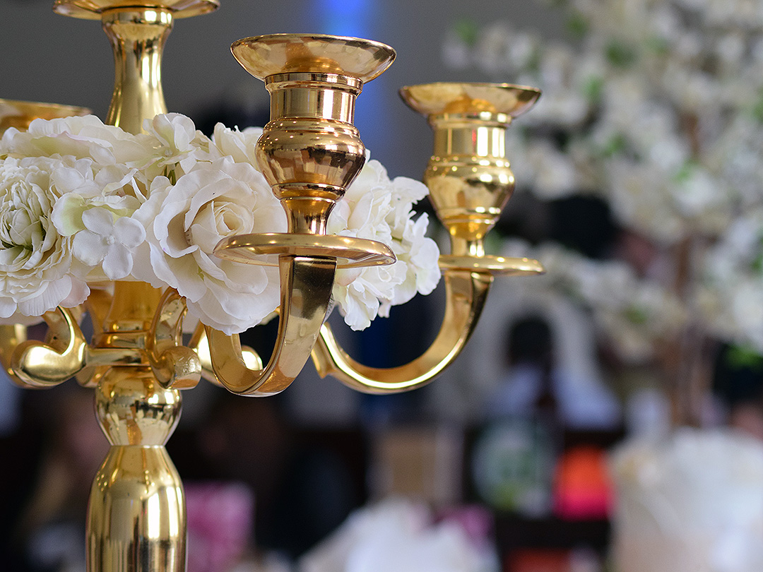 Wedding Candelabra Centre Piece
