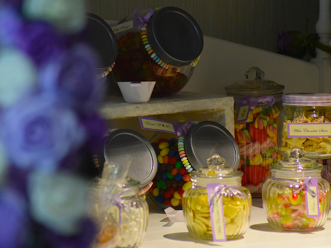 Candy Cart Wedding Party